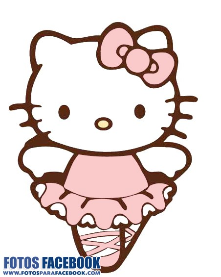Hello Kitty bailarina de ballet