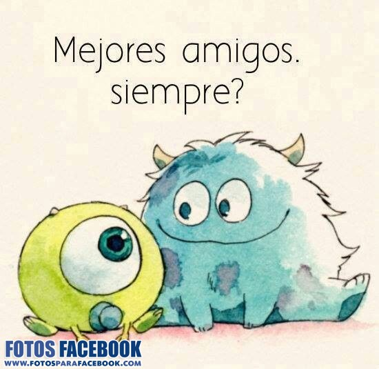 Sulley y Mike bebés