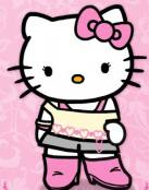 Dibujo hello Kitty