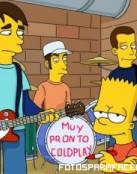 Bart y Coldplay