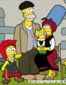 Los Simpsons en la época colonial