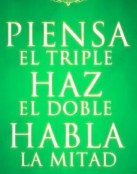 Triple, doble y mitad
