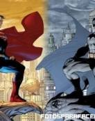 Batman y Superman enfrentados